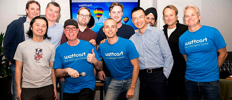 Photo of the Wattcost founders, David Soutar and Tell Mueller-Pettenpohl.