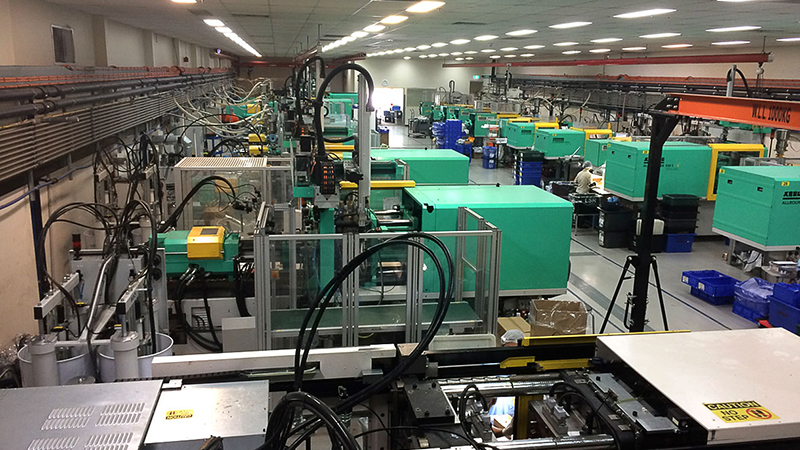 Manufacturing plant in Western Sydney with same tag-line as eDM: Manufacturing is alive and looking impressive in Western Sydney.
