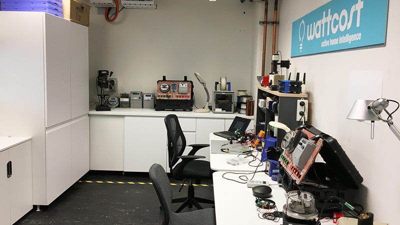 Image caption: Sneak peak into our brand new hardware lab